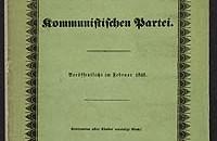 Manifest der Kommunistishen - Front cover